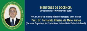 Prof. Dr. Fernando Ribeiro de Melo Nunes (moldura)